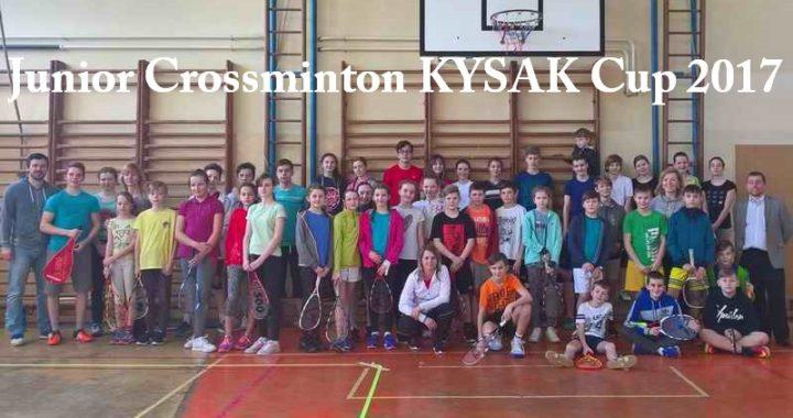 Junior Crossminton KYSAK Cup 2017 – Výsledky