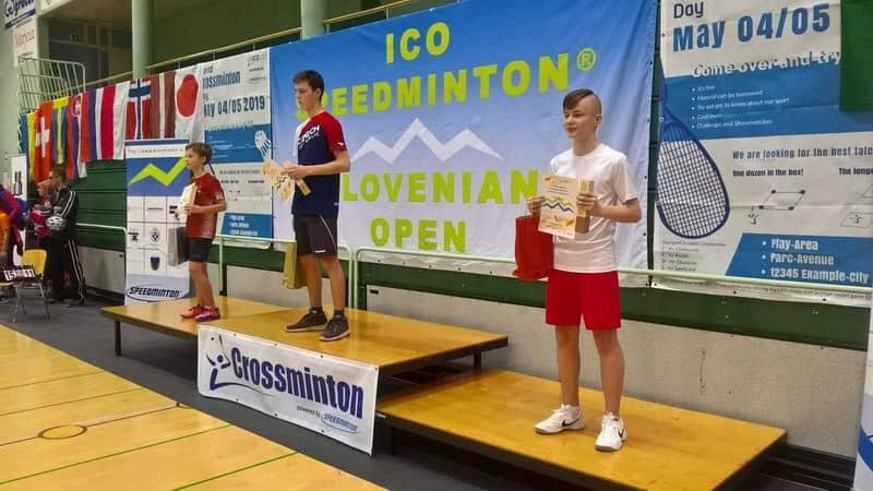 crossminton Slovenian Open 2019