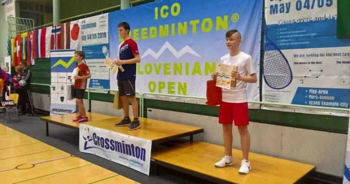 Úspešní Slováci na ICO Crossminton Slovenian Open 2019