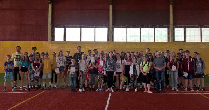 Na crossmintonovom turnaji v Lipanoch hralo 57 juniorov