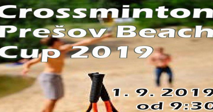 Crossminton Prešov Beach Cup 2019 – info
