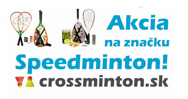 E-shop:: Akcia do 20. 8. 2019 ! ! ! Naskladňujeme značku Speedminton