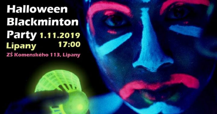 Halloween Blackminton Party v Lipanoch