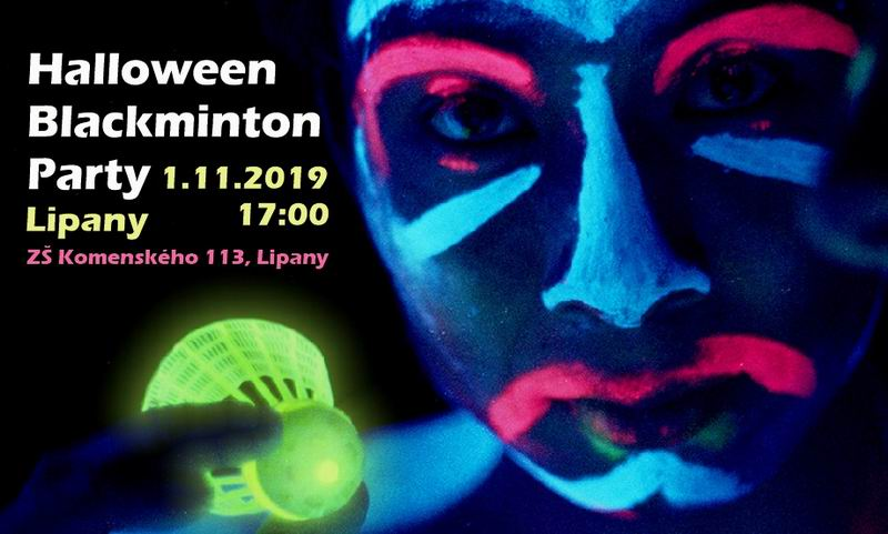 Halloween Blackminton Party 2019