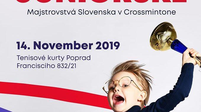 JUNIORSKÉ MAJSTROVSTVÁ SLOVENSKA V CROSSMINTONE 2019 – propozície