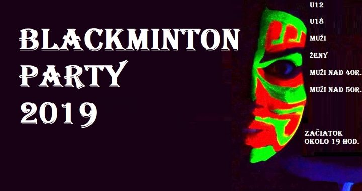 ICO Blackminton Party Open 2019 – RULES, DRAWS, SCHEDULE