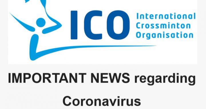 Crossminton: DÔLEŽITÉ NOVINKY týkajúce sa koronavírusu