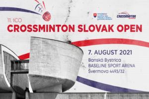 11. ICO Crossminton SLOVAK Open 2021 powered by Speedminton®