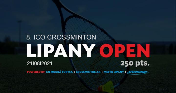 8. ICO Crossminton Lipany Open 2021 (250pts)