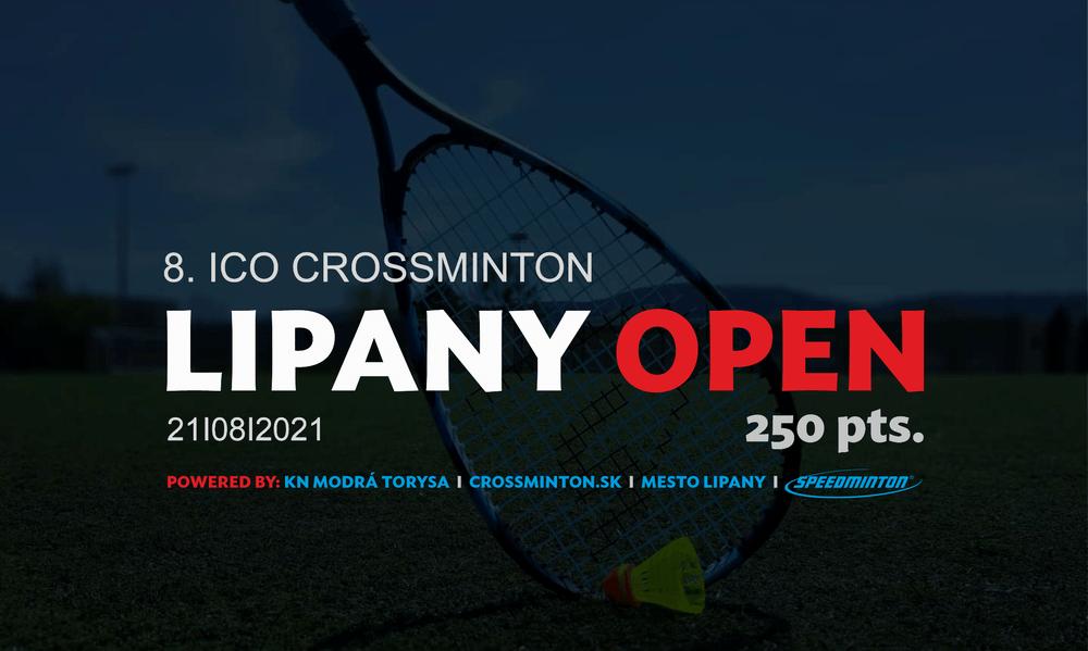 8. ICO Crossminton Lipany Open 2021